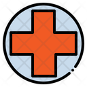 Cross Red Cross Pharmacy Icon