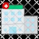 Health Hospital Urban Icon