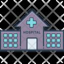 Hospital Asylum Clinic Icon