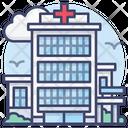 Healthcare Clinic Building Icon