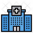 Hospital Health Clinic Building Icon