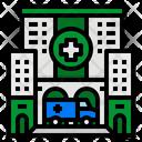 Hospital Health Medical Clinic Building Icon