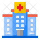 Hospital Doctor Virus Icon