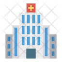 Clinic Hospital Tower Icon
