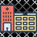 Hospital Clinic Emergency Room Icon