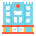 Building Health Clinic Medical Icon