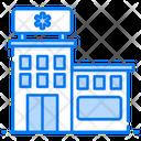 Hospital Clinic Dispensary Icon
