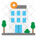 Hospital Building Facility Icon