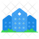 Building Clinic Doctor Icon