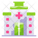 Health Center Medical Center Hospital Building Icon