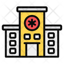 Hospital Medical Center Health Clinic Icon