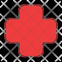 Cross Emergency Healthcare Icon