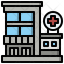 Healthcare And Medical Architecture And City Health Clinic Icon