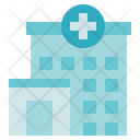 Medical Service Hospital Building Icon