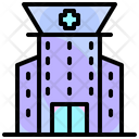 Urban Buildings Hospital Icon