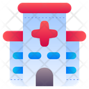 Hospital Building Health Clinic Icon