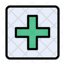 Hospital Clinic Board Icon