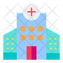 Hospital Health Clinic Building Icon