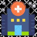 Hospital Clinic Facility Icon