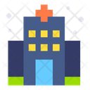 Hospital Clinic Building Icon