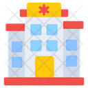 Hospital Medical Center Health Clinic Icon