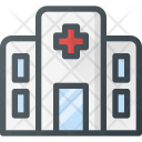 Hospital Architecture Building Icon