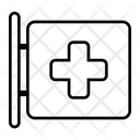Signboard Medical Pharmacy Icon