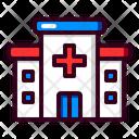 Hospital Clinic Medicine Icon