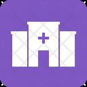 Hospital Building Medicine Icon