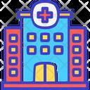 Hospital Clinic Health Center Icon