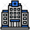 Hospital Health Clinic Architectonic Icon