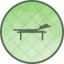 Hospital Bed Stratcher Icon