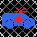 Hospital Ambulance Transport Icon