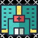 Hospital Facility Medical Icon