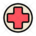 Medical Hospital Cross Icon