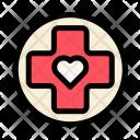 Medical Hospital Heart Icon