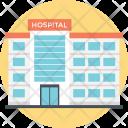 Hospital Building Pharmacy Icon
