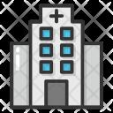 Hospital Dispensary Clinic Icon