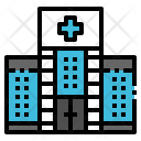 Hospital Building Clinic Icon