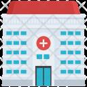 Hospital Medical Building Icon