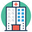 Hospital Building Infirmary Icon