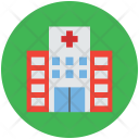 Hospital Building Medical Icon