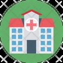 Hospital Hospital Building Medical Center Icon