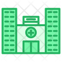 Doctor Building Clinic Icon
