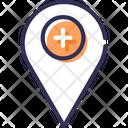 Hospital Address Icon
