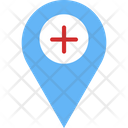 Hospital Address Icon