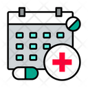 Schedule Medical Appointment Hospital Appointment Icon