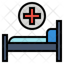Bed Hospital Medical Icon