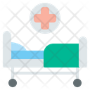 Hospital Bed Hospital Patient Bed Icon
