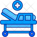 Hospital Bed Medical Bed Sleep Icon